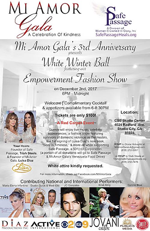 Mi Amor Gala 2017 flyer 2017