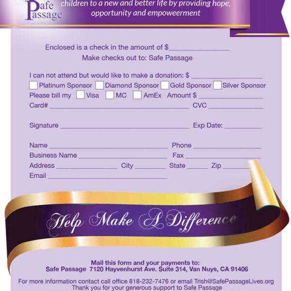 SafePassage_16thAnnualGala_DonationsandSponsorshipForm