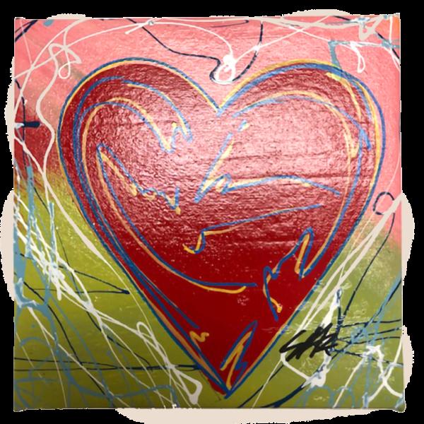 steve-kaufman-heart-art